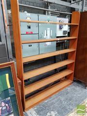 Sale 8455 - Lot 1012 - Timber Open Shelf
