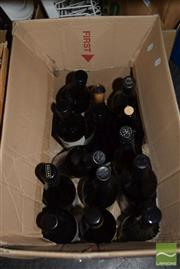 Sale 8509 - Lot 2205 - Box of Mixed Alcohol