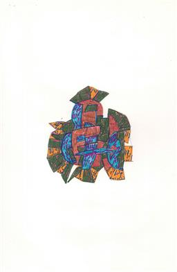 Sale 9111 - Lot 2010 - Lyndon Dadswell (1908-1986) (10 works) - Sketches no. 341 - 350, c1970s various sizes
