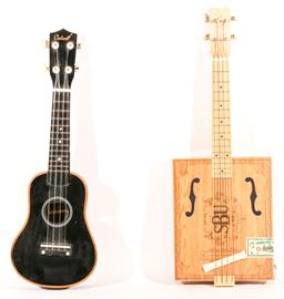 Sale 9136 - Lot 93 - A strum box ukulele together with another