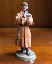 Sale 8313A - Lot 70 - A Royal Doulton figure, The Detective, HN 2359, height 30cm