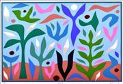 Sale 8527A - Lot 10 - John Coburn (1925 - 2006) - Spring 48 x 72cm