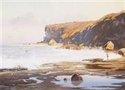 Sale 8583 - Lot 505 - Robyn Collier (1949 - ) - Ebb Tide, South Coast 29 x 39cm
