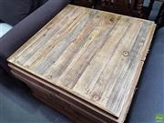 Sale 8601 - Lot 1342 - Set of Twelve Timber Table Tops - XR 80T