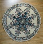 Sale 8653C - Lot 45 - Round Persian Nain 200cm x 200cm