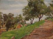 Sale 8901 - Lot 568 - Alice Marian Ellen Bale (1875 - 1955) - By Campbell Creek 24 x 32.5 cm
