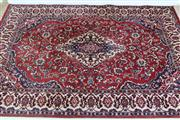 Sale 8905S - Lot 663 - A silk and wool blend Persian prayer mat, 100 x 70cm
