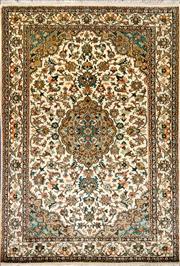 Sale 8307A - Lot 12 - Kashmiri Silk 184cm x 124cm RRP $2500
