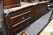 Sale 8310 - Lot 1617 - Rosewood Veneer Entertainment Unit