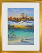 Sale 8323A - Lot 54 - Alex Andrews (1947 - ) - Sand Dunes 57 x 41cm