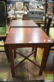 Sale 8390 - Lot 1632 - Pair of Side Tables