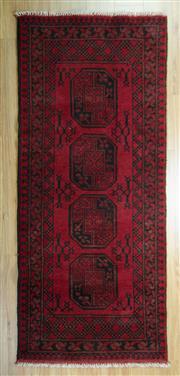Sale 8643C - Lot 37 - Afghan Turkman 208cm x 87cm