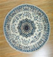 Sale 8653C - Lot 46 - Round Persian Nain 200cm x 200cm