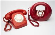 Sale 8739 - Lot 45 - Vintage Phones: Dial Up & Donut Style