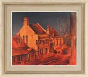 Sale 8781A - Lot 5002 - Alex McMillan (1910 - 1987) - Balmain Houses 37 x 44.5cm