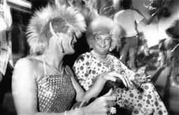 Sale 9082A - Lot 5033 - Sydney Gay and Lesbian Mardi Gras Parade, Art Gallery of NSW (1988), 25 x 20 cm, silver gelatin, Photographer: David Trood