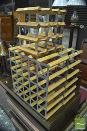 Sale 8310 - Lot 1613 - Collection of Wine Racks