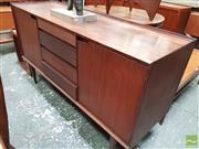 Sale 8451 - Lot 1086 - Superb Aformosia teak sideboard by Richard Hornby