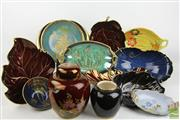 Sale 8494 - Lot 33 - Carltonware Ceramic Collection inc Rouge and Cloisonne Example