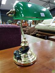 Sale 8562 - Lot 1075 - Bankers Table Lamp