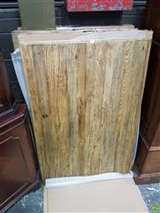 Sale 8601 - Lot 1482 - Set of Six Timber Table Tops - XR 120T (120 x 80cm)
