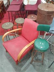 Sale 8676 - Lot 1113 - Collection of Stools