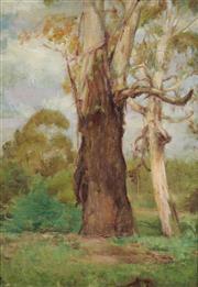 Sale 8901 - Lot 569 - Alice Marian Ellen Bale (1875 - 1955) - On Diamond Creek 34.5 x 24.5 cm
