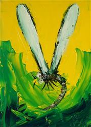 Sale 8992 - Lot 526 - Kevin Charles (Pro) Hart (1928 - 2006) - Dragonfly 27.5 x 20 cm (frame: 49 x 41 x 3 cm)
