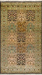 Sale 8307A - Lot 13 - Kashmiri Silk 165cm x 93cm RRP $2000