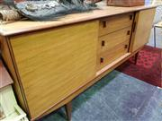 Sale 8451 - Lot 1072 - Quality 1960s teak sideboard