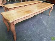 Sale 8480 - Lot 1173 - A Pair of French Oak Benches