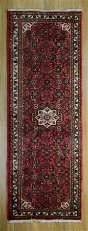 Sale 8643C - Lot 39 - Persian Huseinabad 196cm x 75cm