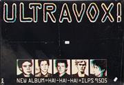 Sale 8705 - Lot 1001 - Vintage Ultravox Band Poster