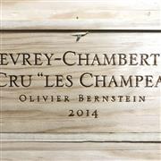 Sale 8825 - Lot 747 - 6x 2014 Olivier Bernstein Les Champeaux, 1er Cru, Gevrey-Chambertin - original timber box