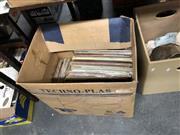 Sale 8819 - Lot 2427 - Box of LP & Single Records