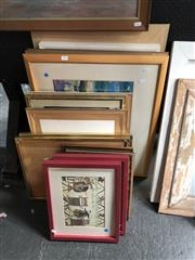 Sale 8856 - Lot 2078 - Collection of Decorative Prints
