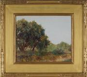 Sale 8929 - Lot 586 - Alice Marian Ellen Bale (1875 - 1955) - Countryscape 24.5 x 29.5 cm