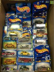 Sale 8559A - Lot 69 - Box of Hotwheels Cars, in packaging