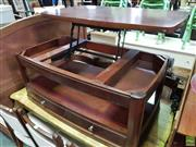 Sale 8593 - Lot 1065 - Convertible Coffee table