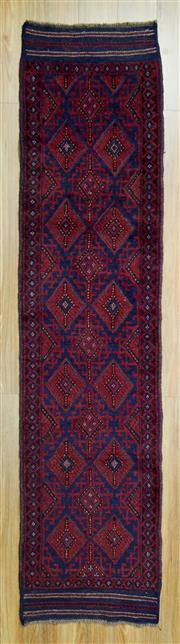 Sale 8601C - Lot 45 - Persian Baluchi Runner260x60