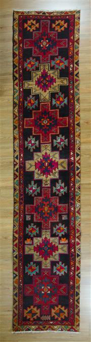 Sale 8643C - Lot 40 - Persian Hamadan Runner 430cm x 88cm