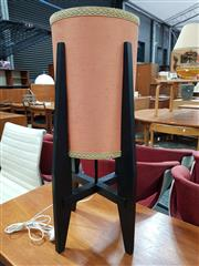 Sale 8782 - Lot 1099 - Vintage Rocket Table Lamp