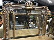 Sale 8822 - Lot 1214 - Large Ornate Gilt Frame Mirror - 212