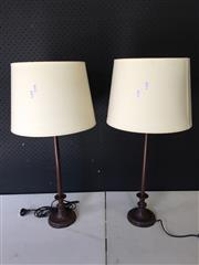 Sale 9034 - Lot 1034 - Pair of Provincial Style Table Lamps - 5561