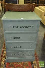 Sale 8383 - Lot 1328 - Top Secret Chest of Drawers