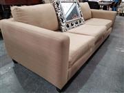 Sale 8724 - Lot 1034 - Tan Three Seater Sofa