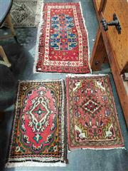 Sale 8925 - Lot 1059 - A group of small machine made carpets