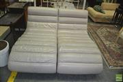 Sale 8383 - Lot 1433 - Pair of Modern Chaise Lounges