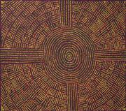 Sale 8478A - Lot 5042 - Margaret Nangala Brown (1968 - ) - Kungka Tjukurrpa 85 x 95cm