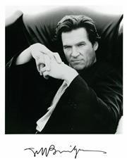 Sale 8555A - Lot 5080 - Jeff Bridges